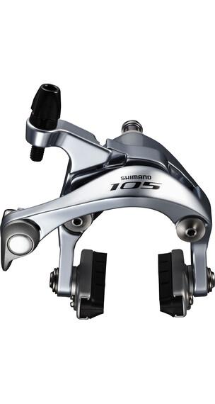 Shimano 105 BR-5800 Hamulec szczękowy  tylne koło 165 cm srebrny